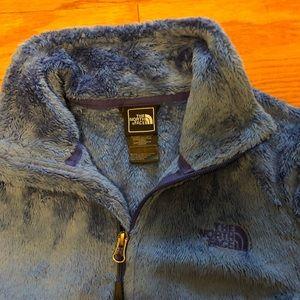 North Face full zip fleece jacket